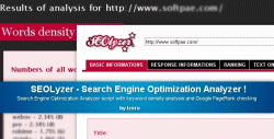 SEOLyzer - Search Engine Optimization Analyzer